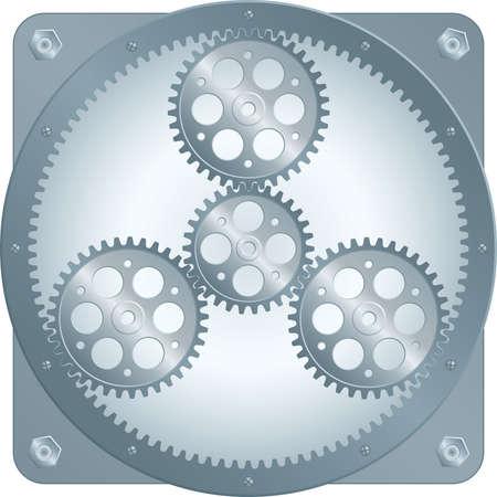 Sonne-Getriebe