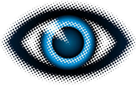 eye (from dots design series) Vector