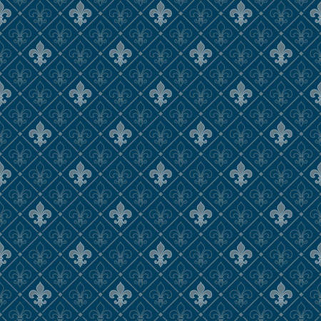 fleur-de-lis seamless pattern Stock Vector - 5566955