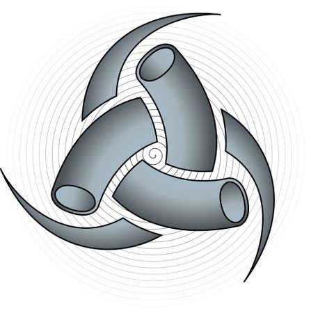Triple Horn of Odin  Vector