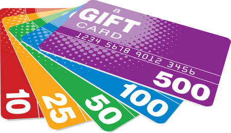 giftcard: Color Gift Cards