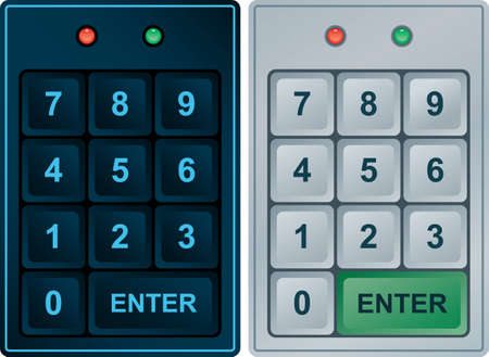 burglars: Keypad Entry  Illustration