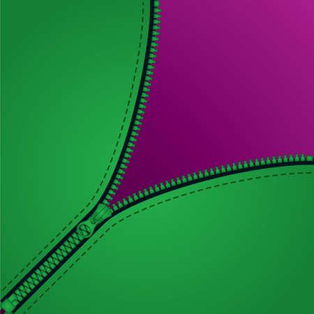 title page: p�gina de t�tulo de diagonal con cremallera con espacio de copia