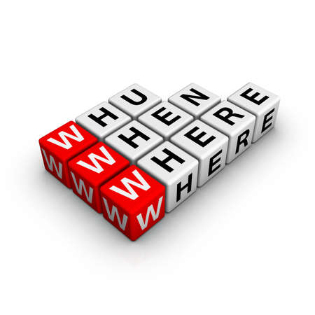 web searching (from crossword series) Stock Photo - 6523682