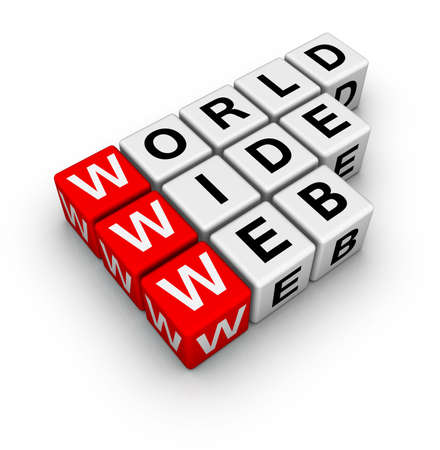 word wide web (from crossword series) Stock Photo - 6523687