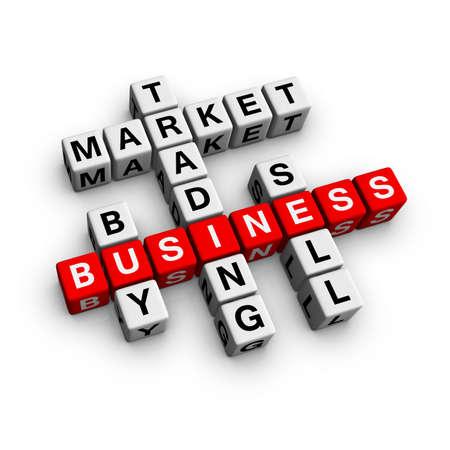 buying stock: market crossword (from crossword series)