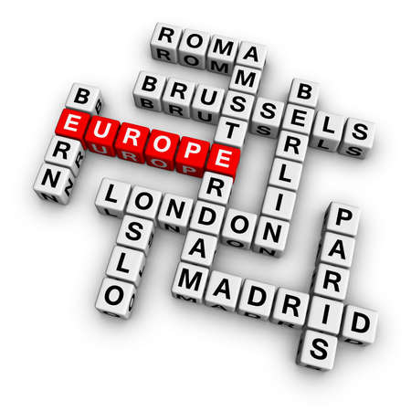holand: europe  (frome crossword series) Stock Photo