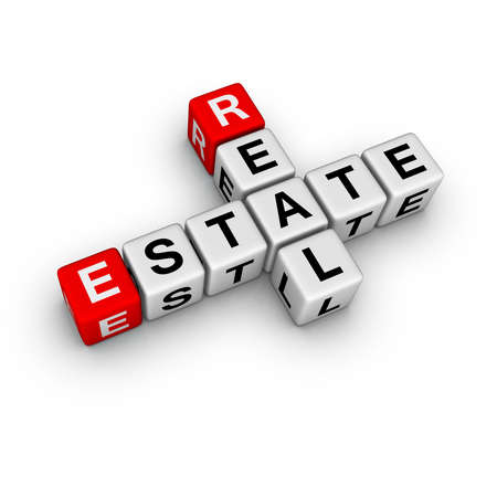real estate symbol (from crossword series) Stock Photo - 6585273