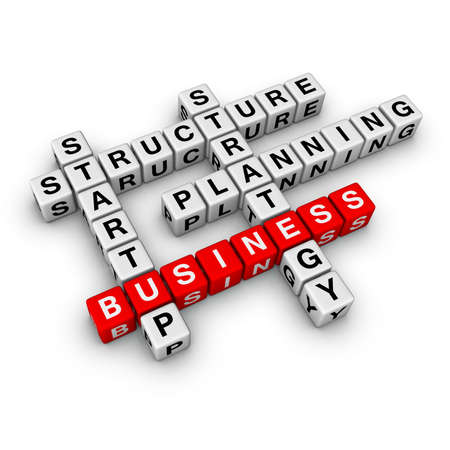 startup business (from crossword series) Stock Photo - 6585259