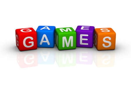 buzzword: games (colorful buzzword cubes series)