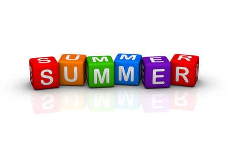 buzzword: summer  (buzzword cubes series)