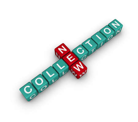 new collection (cubes crossword series) photo