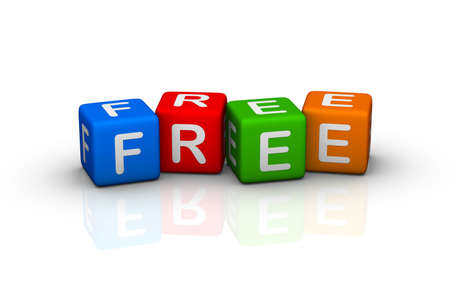 free offer: free (buzzword colorful cubes series)
