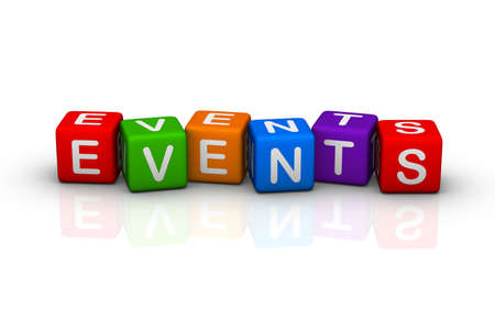 event: events (buzzword colorful cubes series)