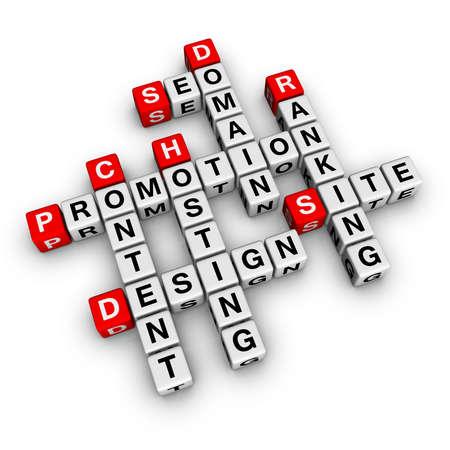ecomerce: website promotion (crossword series)