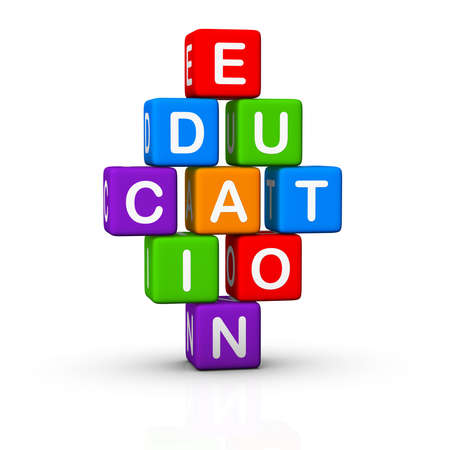 cretive: Education Toy Blocks (colorful cubes buzzword series)