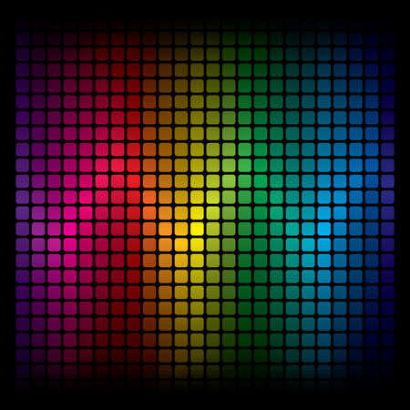 rainbow print: Abstract Spectrum Background