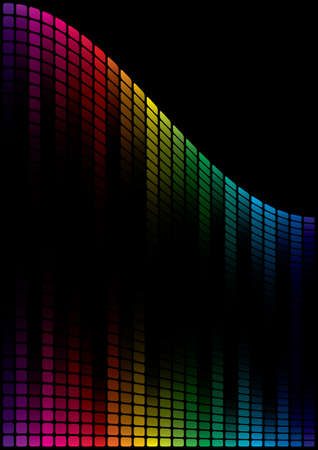 Abstract Spectrum Background  Vector