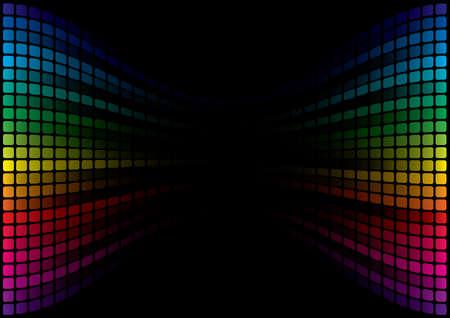 Abstract Spectrum Background Stock Vector - 7124537