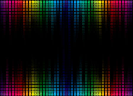 colorful light display: Abstract Spectrum Background