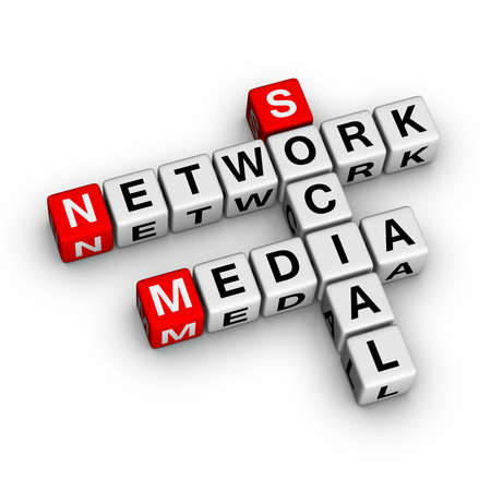 Social Media Network (from croosword series) photo