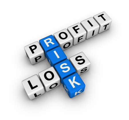 profit and loss: profit, loss and risk (blue-white cubes crossword series)