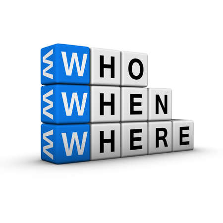web searching  (blue-white cubes crossword series) Stock Photo - 7252229