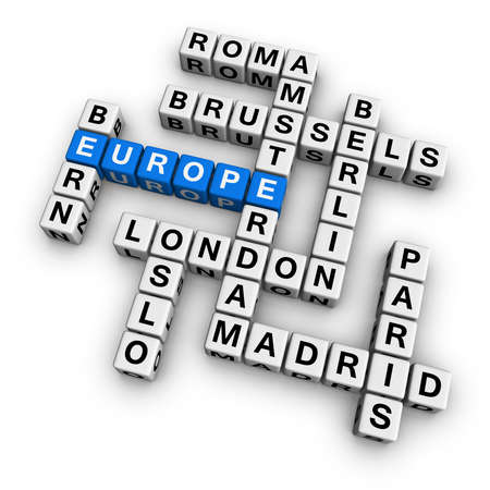 holand: europe  (blue-white cubes crossword series)