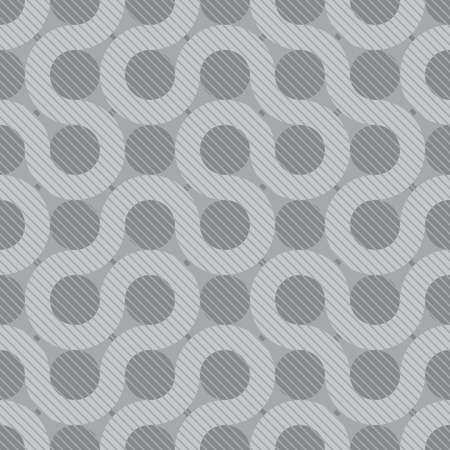 tileable: abstract gray flow background (tileable pattern) Illustration