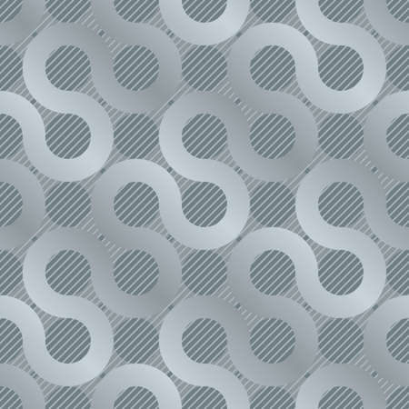 abstract gray flow background seamless  pattern) Vector