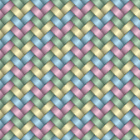metalic: Holiday wrapping Paper satin Background (editierbare seamless Pattern, See mehr in meinem Portfolio)