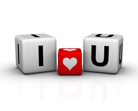 te amo: I love you (s�mbolo de valentines day)