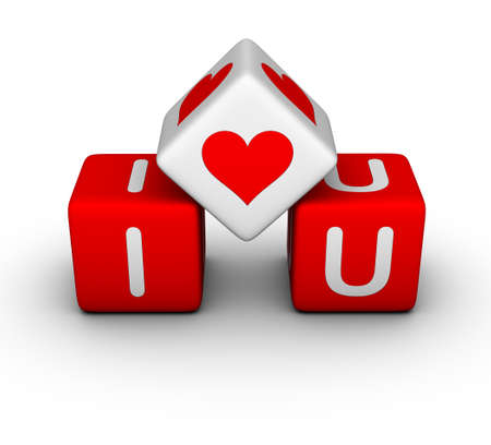 I love you (valentines day symbol) photo