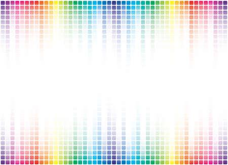fiestas electronicas: fondo multicolor con espacio de copia