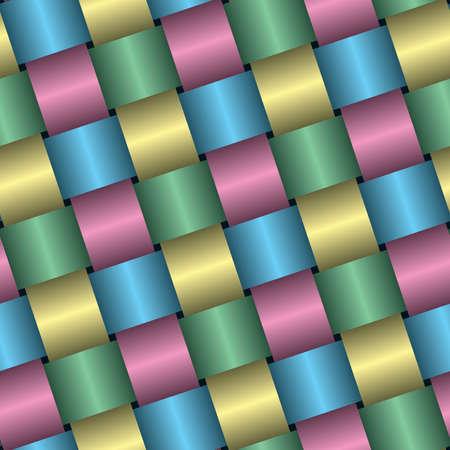 interlace: Holiday confezionamento carta satinata sfondo (modificabile pattern senza saldatura)