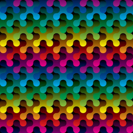 abstract rainbow: multicolor seamless background