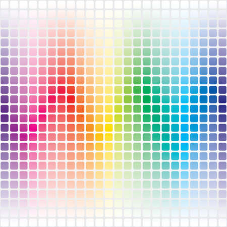 led: Abstract Spectrum Seamless Background Illustration