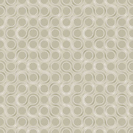 light golden mishmash seamless background for web design or wrapping Vector
