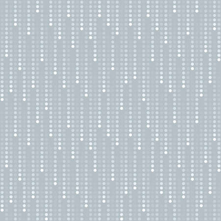 halftone: cosmic rain of halftone dots (seamless background)
