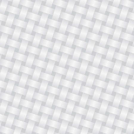 gray pattern: Wicker white background (editable seamless pattern)
