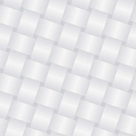 interlace: Sfondo bianco di vimini (modificabile pattern senza saldatura)