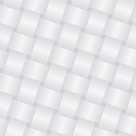 white textured paper: Wicker white background (editable seamless pattern)
