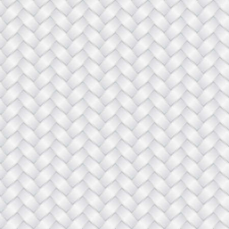 Sfondo bianco di vimini (modificabile senza saldatura pattern)