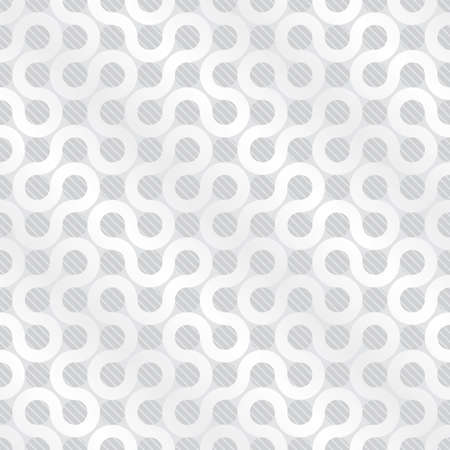 White flow background (editable seamless pattern) Vector