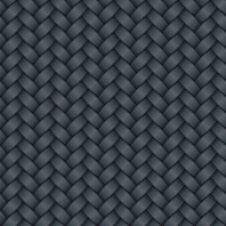 metalic: Carbon-Hintergrund (editierbare seamless Pattern) Illustration