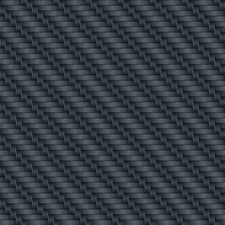 weaves: Carbon background (editable seamless pattern)