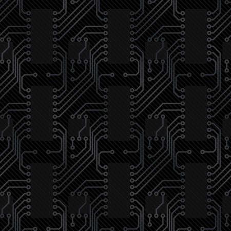 Arrière-plan de carbone (modifiable sans soudure patron) Vecteurs