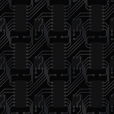Carbon background (editable seamless pattern) Vector