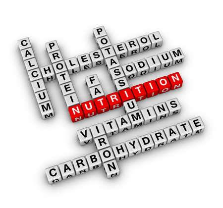 Nutrition Ingredient (cubes crossword series) photo