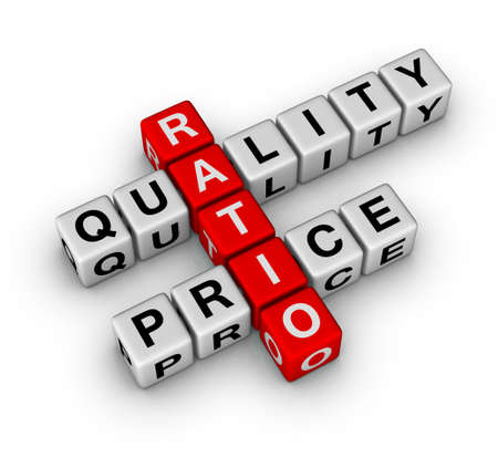 assurance: Quality and Price Ratio cubes crossword series